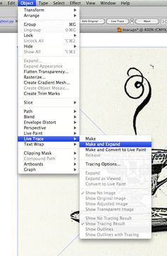 Live Trace Tutorial in Adobe Illustrator