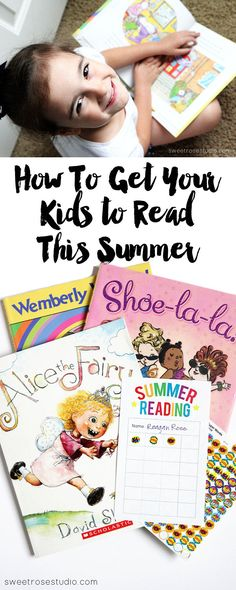 Motivate your kidlets to read this summer with a fun and FREE Summer Reading Chart!