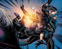 Cassandra Cain and Harper Row in Batman & Robin Eternal #26