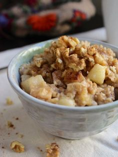 Overnight Slow Cooker Oatmeal—Cinnamon-Apple http://www.ivillage.com/10-slow-cooker-breakfasts-you-ll-dream-about-all-night/3-a-559161