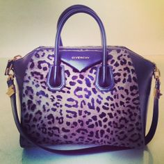 Givenchy leopard print bag..do what, but I am  figuring that I can't afford it!