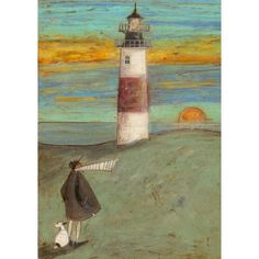 Sam Toft - Lights going out - limited edition art print