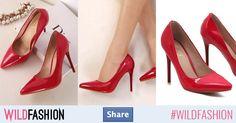 Stil şi eleganţă. Share 💞👄 Louboutin Pumps, Christian Louboutin, Heels, How To Wear, Fashion, Sandals, Heel, Moda, Fashion Styles