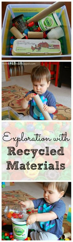 Minne-Mama: Exploring with Recycled Materials