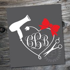 Hair Stylist Vinyl Sticker by TheBrittleBrush on Etsy