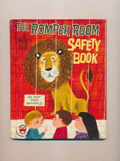 vintage children's book Romper Room Safety Book by mudintheUSA on Etsy