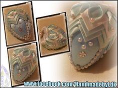 Veľkonočné vajíčko, kombinácia techník falošný patchwork a kimekomi (artičok) je autorský originál z dielničky HandmadebyLdk