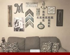 Helpful Tips For Successful Home Improvement Projects Metal scrabble wall tiles are a unique way to decorate your wall. Spell out family names, fur baby names, and fun phrases! Scrabble Wall Art, Monogram Wall Art, Monogram Fonts, Initial Wall, Scrabble Family Names, Chevron Wall Art, Framed Initials, Letter Wall Decor, Scrabble Letters