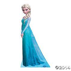 Disney Frozen Snow Queen Elsa Stand-Up