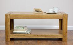 Quercus Solid Oak Furniture Range Living Room | Oak Coffee Table Oak Furniture Land www.oakfurnitureland.co.uk