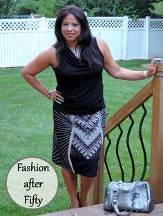 Fashion after Fifty #ootd #dressforless @jcpenney #pencilskirt #DelawareBlogger @dedivahdeals