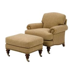 wesley hall furniture | Wesley Hall 853 Winchester Chair and 853-29 Winchester Ottoman