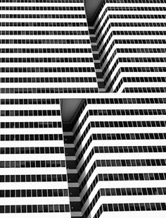 This has really cool line, contrast, and illusion of motion. Perhaps add in for my skyscraper background?