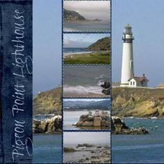 Layout: Pigeon Point Lighthouse in Northern California