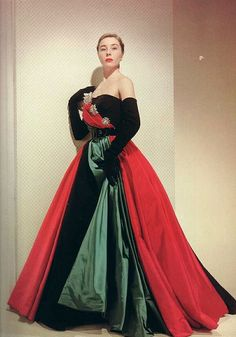 Bettina is wearing Jacques Fath, 1950