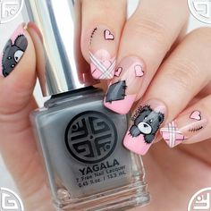 Hey ladies do you to see nail art designs for Valentines Day that look really cute Then this article is what you have been looking for. It contains 18 pretty nail art designs for valentines day t Nail Art Designs, Pretty Nail Designs, Pretty Nail Art, Nail Polish Designs, Beautiful Nail Art, Beautiful Pictures, Pink Nails, Gel Nails, Nail Polishes