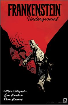 Mignola, Stenbeck, Frankenstein's monster, ERB-style hollow earth stuff = best sounding comic ever!