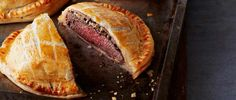 Beef, mushrooms and flaky pastry make the best Beef Wellington. Make these individual versions for a special occasion or just for special family and friends.
