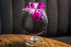 Charcoal Cocktails: Thanks to its purported detoxification properties, activated charcoal has become a dark-horse ingredient contender in the beverage industry. Because it tastes neutral, the potent powder has been added to lemonade, green juices, protein shakes, and, ironically, cocktails. For example, Pouring Ribbons in New York's East Village serves up The Heart of Darkness ($15) with tequila, lime, mezcal, raspberry, and activated charcoal.