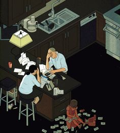 New-yorker-covers Painting - New Yorker October 2010 by Chris Ware New Yorker Covers, The New Yorker, Comic Book Artists, Comic Books, Chris Ware, Essay Contests, Children Images, Illustration Artists, A Comics