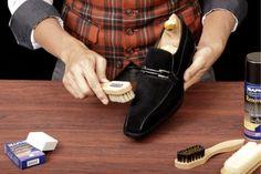 Уход за обувью из нубука: правила, средства, советы