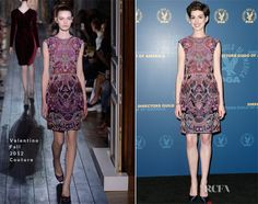 2013 DGA Awards Anne Hathaway - Valentino Couture