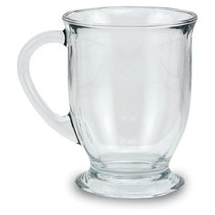 These gorgeous glass mugs come in a set of four and are a perfect addition to your home's serveware. Microwave and dishwasher safe, enjoy your morning coffee in style.