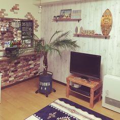 yukiさんの、リビング,西海岸,西海岸インテリアに憧れ中,フェニックスロベレニー,のお部屋写真