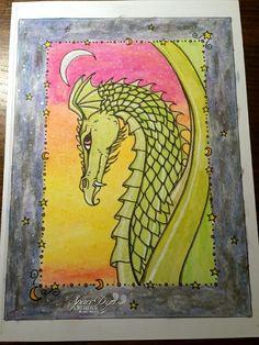 #coloriage #pastelalhuile #jaxon #byme #spacedyn #dessin #draw de #mollyharrison #dragon