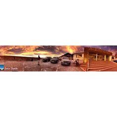 The view ✨ only at Salt Hotel & Spa Luna Salada #lunasalada #lunasaladahotel #hotellunasalada #uyuni #uyunisaltflats #salar #salardeuyuni #potosi #bolivia #southamerica #saltflats #amazing #sky #instatravel #travel #nofilter #view