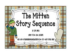 Mittens on Pinterest | The Mitten, Jan Brett and Activities