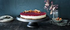 Mausteinen glögijuustokakku on joulun kahvipöydän upea tarjottava ja se maistuu ihanasti joululta. Cheesecake, Xmas, Christmas, Tiramisu, Cake Recipes, Baking, Ethnic Recipes, Desserts, Food