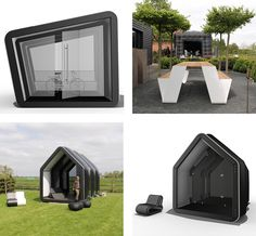 AirClad - architectural buildings developed by Inflate.