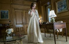 There are caftans and there are caftans. You'll enjoy this piece from Racked on the glorious, golden caftan (most definitely of the latter sort) worn by Meryl Streep in The Post, in her role as Katharine Graham. It's worthy of