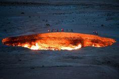 Darvaza, Turkmenistan.  Hell's Door.
