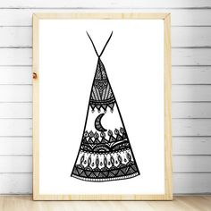 Nursery Print Boho Bedroom Wall Art Tribal by TheKidsPrintStore Baby Prints, Nursery Prints, Nursery Wall Art, Bedroom Wall, Wall Art Decor, Wall Art Prints, Tribal Decor, Boho Nursery, Art Wall Kids