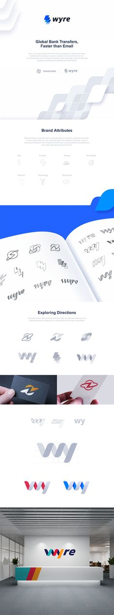 Wyre Branding by Ramotion