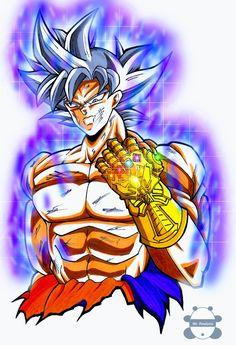 Goku Ultra Instinct, Goku Vs, Goku Super, Anime Crossover, Dragon Ball Gt, Son Goku, Dbz, Artwork, Black Goku