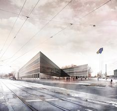 The City of Justice in Munich on Behance