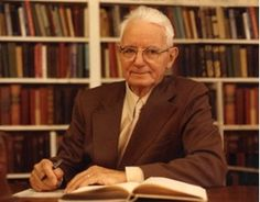 "Cornelius Van Til: Taught for many years at Westminster Theological Seminary. Developed ""Van Tillian Presuppositionalism""."