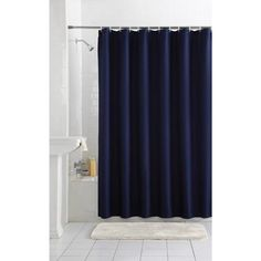 SHOWER CURTAIN FOR MAIN BATH - TAN or WHITE  Mainstays Waffle Fabric Shower Curtain Collection