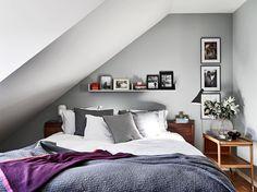 foorni.pl | Mieszkanie na poddaszu, sypialnia na poddaszu