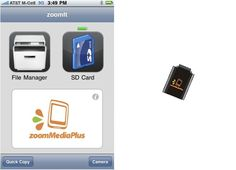 ZoomIt: An SD Card-Reader for iPhone | Gadget Lab | Wired.com