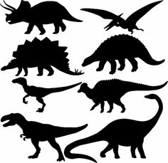 Find dinosaur silhouette stock images in HD and millions of other royalty-free stock photos, illustrations and vectors in the Shutterstock collection. Dinosaur Outline, Dinosaur Silhouette, Animal Silhouette, Dinosaur Crafts, Dinosaur Party, Dinosaur Birthday, Dinosaur Dinosaur, Silhouette Images, Silhouette Vector