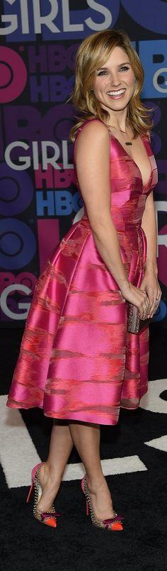 Sophia Bush at the Girls Season 4 Premiere.