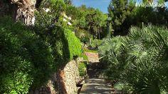 Reciben su nombre de una antigua puerta de origen árabe situada cerca de estos jardines.