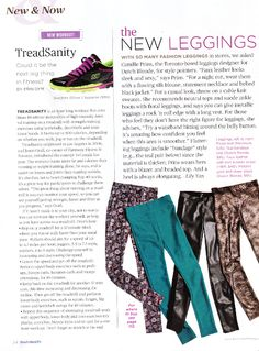 Best Health Magazine's September Issue Features Minimum's Aime Leggings and how to wear them. Health Magazine, September, Leggings, Workout, Hot, How To Wear, Work Outs, Tights