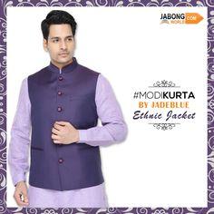 JADE BLUE #ModiKurtas #Jackets are now available at #Jabongworld, come on, check out the collection---> http://www.jabongworld.com/men/kurtas.html?utm_source=ViralCurryOrganic&utm_medium=Pinterest&utm_campaign=ModiKurta-19-aug2015 #Fashion #Kurta #MensFashion #IndianEthnicWear