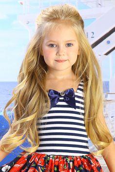 Anastasia Orub (born May 15, 2008) Russian child model.
