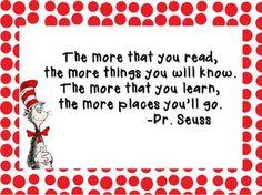 Dr. Seuss Motivational Poster {Freebie} - Lauren Livengood - First Grade Charades - TeachersPayTeachers.com